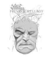 Hellboy Preview by secretSWC