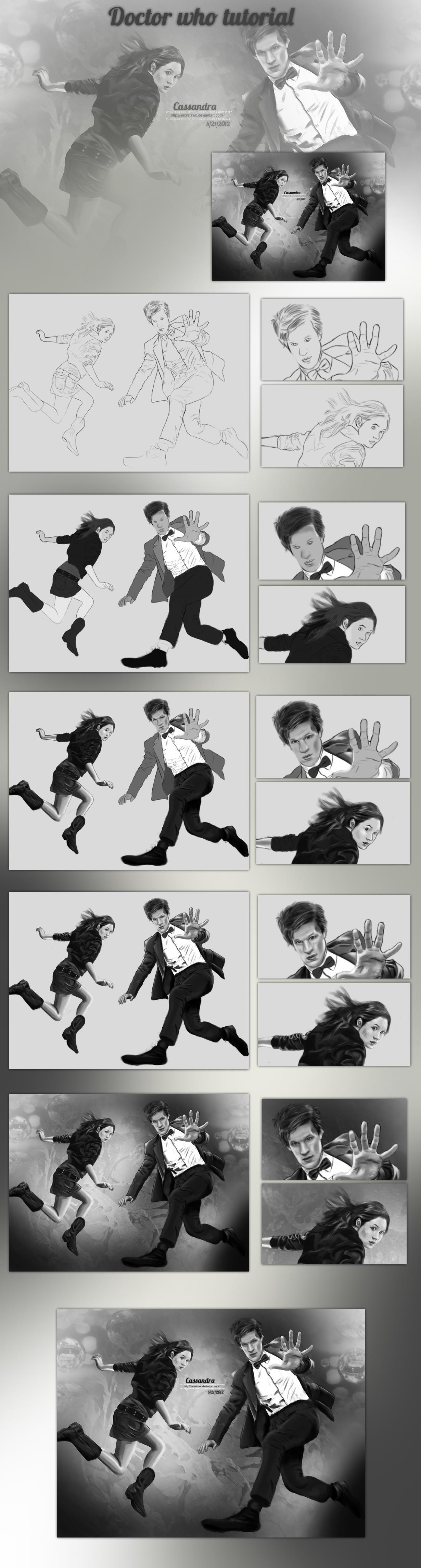 Doctor Who tutorial by secretSWC