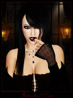 Gabrielle d'Noire by SilveryWitch