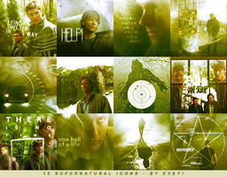 Supernatural icons by Evey-V