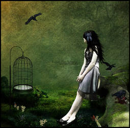 Enjoy The Silence by deadlybuterfly