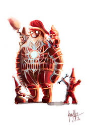 New Invention: Santa Claus by JustineZxy