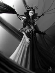 Dia de Muertos - Queen of the Dead by JustineZxy