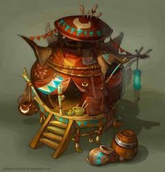 fantasy house by Catell-Ruz