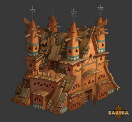 Karuba's house by Catell-Ruz
