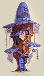 Rock House by Catell-Ruz