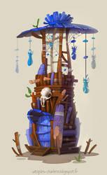 Dreamcatcher Tower by Catell-Ruz