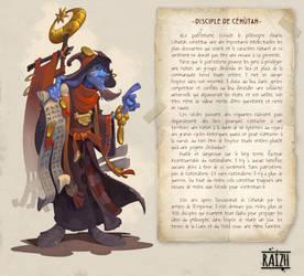 Disciple of Cehutah by Catell-Ruz