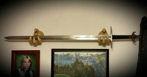 Vengeance - sword of the Dark Avenger by CelticDragons