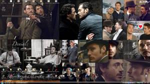 Sherlock X Watson by GothxLuciole