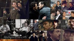 Sherlock X Watson wallpaper by GothxLuciole