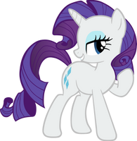 Rarity Vector by TheJourneysEnd