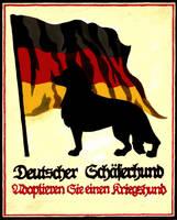 German Shepherd Poster by BloodMoonEquinox