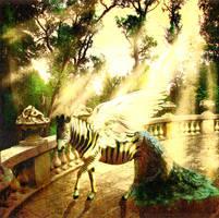 Siamese Fan-Tailed Zebra by BloodMoonEquinox
