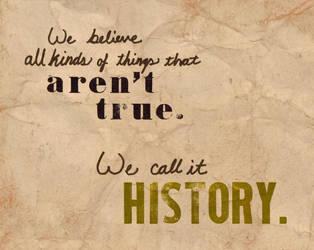 History by BloodMoonEquinox