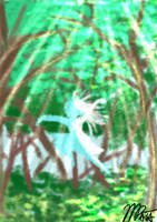 Fairy in Forest by MasanoEshi
