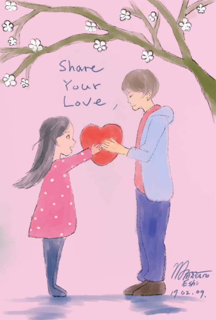 Share Your Love - Valentine`s Day by MasanoEshi