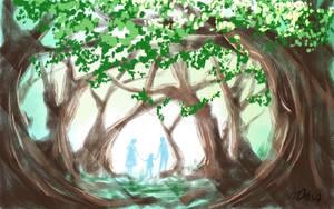Spiritual Forest by MasanoEshi