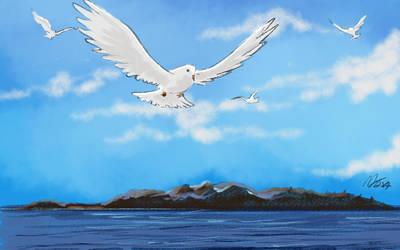 Flying Bird by MasanoEshi