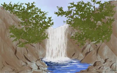 Waterfall by MasanoEshi