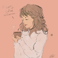 A Cup of coffee would be nice by MasanoEshi