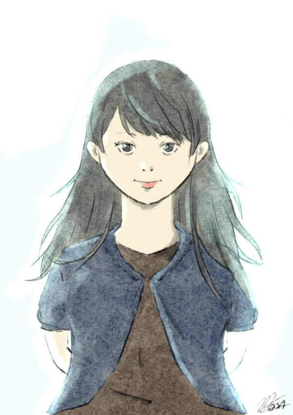 A Girl by MasanoEshi