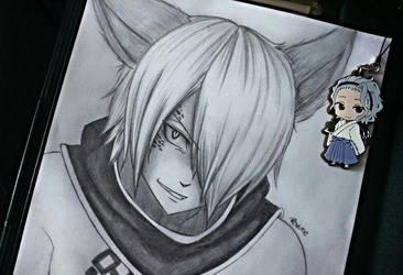 Jackal sketch by revinee