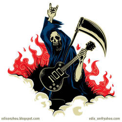 DeathMetal by xon-xon