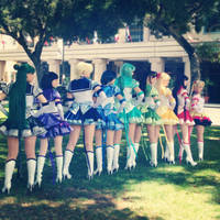 Rainbow Senshi by LadyStaba