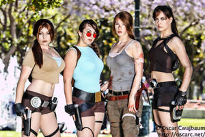 The many versions of Lara by LadyStaba