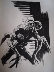 The Fly #inktober2017 by EVC