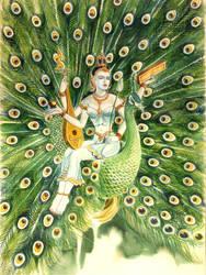 Sarasawati by PatDaradas