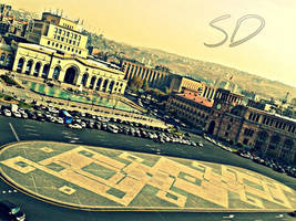 Republic square in Yerevan by davo83