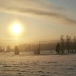 Winter's Sun by xuvi
