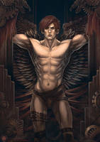 Raven King by ameoname