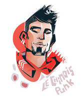 Le Chinois Punk by ameoname