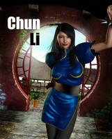 Chun Li Good Morning by jules2626