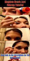 Kingdom Hearts Axel Makeup Tutorial by sunlitebreeze
