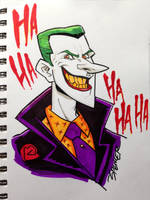 The Joker by spencertoons
