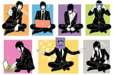 Sasuke's Free Time by Cassy-F-E