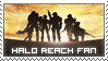 Stamp: Halo Reach Fan by Nawamane