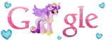 Crystal Cadence Google Logo (Install Guide!) by Owl-Parchment