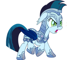 Crystal Knight Zephyr by Owl-Parchment