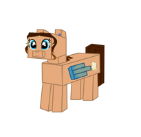Owl Parchment Minecraft Pony (Opinion Needed!) by Owl-Parchment