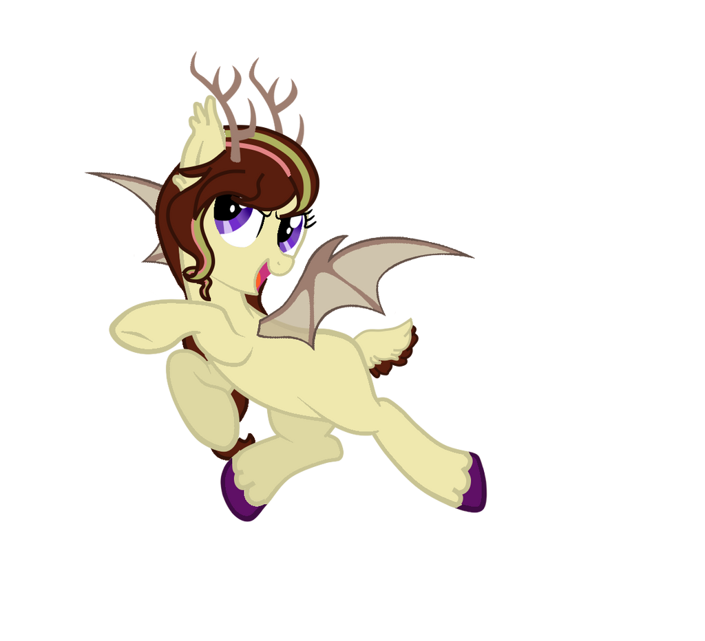 Gwin The Bat-deer By Owl-Parchment On DeviantArt
