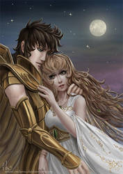 Coryn and Ayoros by Irulana