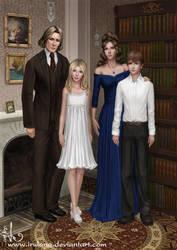 Family portrait by Irulana
