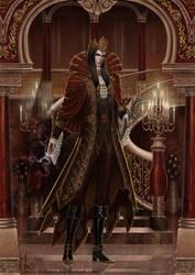 Dark Lord, stylish aristocrat by Irulana