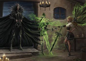 Esmeralda Transformation by Irulana