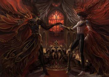 Birth of Dark Lord by Irulana